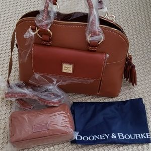 Dooney & Bourke Leather Satchel Handbag